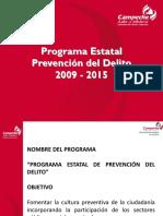 Campeche Programa Estatal 2009-2015 PGJE