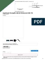 Amplificador Recargable Usb Sd Fm Blueto-Homecenter.com