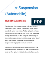 Rubber Suspension System