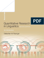 Rasinger, Sebastian Marc-Quantitative Research in Linguistics _ an Introduction-Bloomsbury (2013)