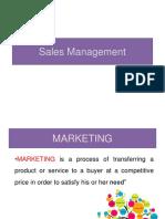 Sales vs Markleting