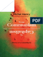 Michel Henry From Communism to Capitalism Theory of a Catastrophe