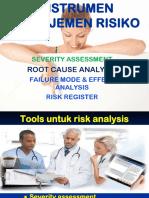 Tools Manajemen Risiko