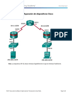 Laboratorio 1 - Configuración de Dispositivos Cisco