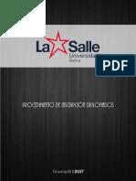 LA SALLE | GROWUP | MANUALES | Procedimiento de Inscripción