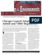 Chicago Adopts Airbnb and VRBO Regulations Protecting Condominium and Homeowners Associations