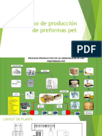 Proceso de Producción de Preformas Pet