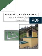 05 Manual o&m Sistema de Cloracion Por Goteo