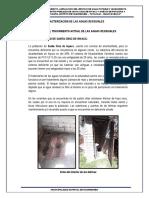 17.19.- Estudio de Caracterización de Las Aguas Residuales