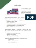 EJEMPLO y Formato de Focus Group