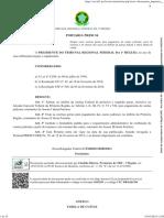PORTARIA PRESI 54 2016 - Custas Processuais