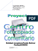 Proyecto fotocopiado-comunitario