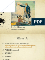 wed nov 1 us history