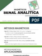 Métodos Magnéticos Señal Analítica - geofisica 2017