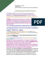 texto modelagem