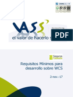 VASS-Requisitos Desarrollo WCS
