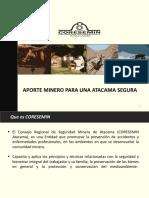 Coresemin en Actividad de Reflexion de Seguridad Minera
