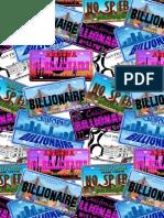 A menabo for Billionaire brochure