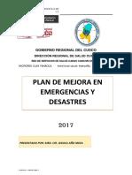 Plan de Respuesta a Emergencias Pongoña
