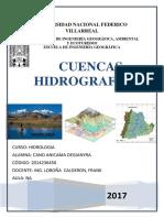 trabajo de parametros geomorfologicos