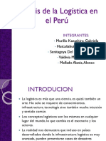 Anális de La Logística en El Perú