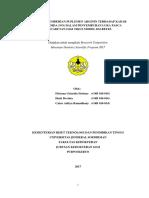Halaman Judul Full Paper Research PENGARUH PEMBERIAN SUPLEMEN ARGININ fitriana Unsoed.docx