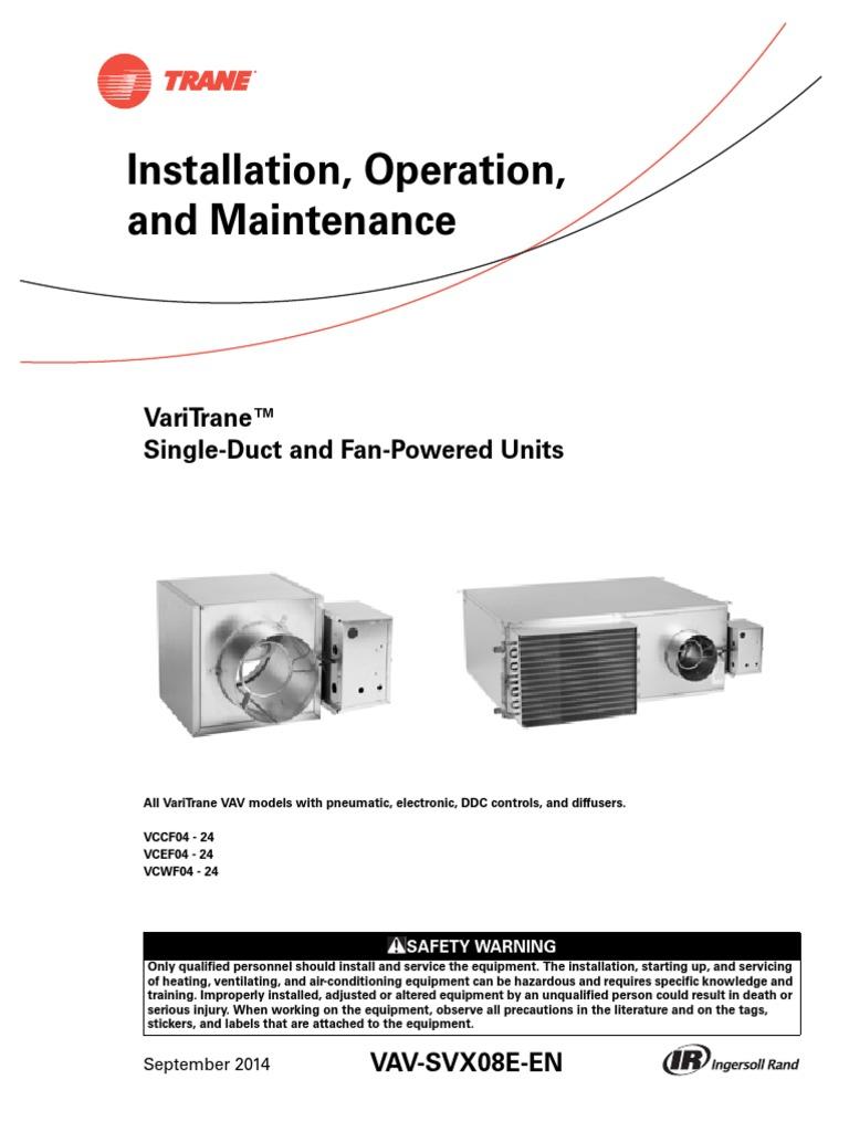 Varitrane Vav Air Valve Wiring Diagram Diagrams Library 460 3 Phase