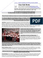 Cox News Volume 7 Issue 9