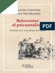 Reinventar El Psicoanálisis. Luciano Lutereau y Liora Stavchansky (1)