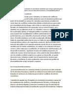 Qué Conflictos Se Presentan en El Territorio Colombiano Que Se Hayan Generado Por La Degradación Ambiental