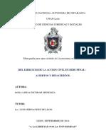 Accion Civil en Sede Penal