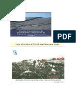 Fallas Geologicas en El Peru