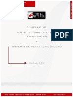 Total Ground - Comparativo de Tierra Fisica