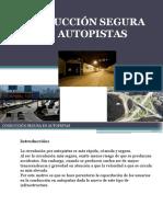 Presentación Conducción Segura Autopista