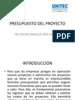 Presupuesto Del Proyecto Unitec