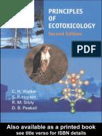 2001-Walker Et Al-Principles of Ecotoxicology