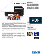 Epson Expression Home XP 202 Datasheet