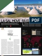 Reportaje sobre el litio publicado por la Revista DT de España