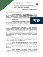 R.a 106-2012 CONFORMACION de La Comision Permanente de Procesos Diciplinarios