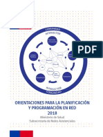 Orientaciones Para La Planificacion y Programacion en Red 2018 1