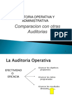 Diferencia Auditoria Financiera y Operativa