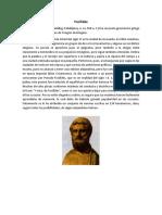 biografias Focílides