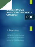 administracion diapositiva
