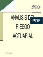 Analisis Actuarial