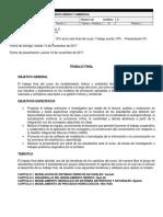 2017-2 Trabajo Final - Modelamiento Hídrico y Ambiental