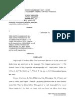 2017-11-02 FINAL Kenova v JCAHO Class Action Complaint2