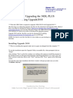 38DLP Upgrade Instructions Using Upgrade 2010