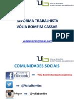 Volia Bomfim Cassar - Desembargadora Do TRT - 1a Regiao