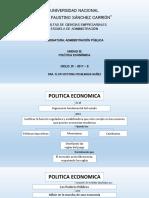 Tercera Unidad Politica Economica