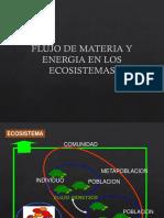 Clase Flujo de Energía y Materia